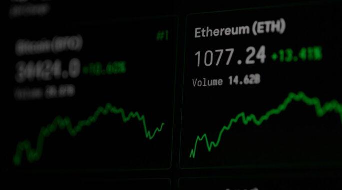 Performance of cryptocurrencies
